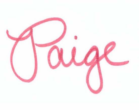 paige-signature