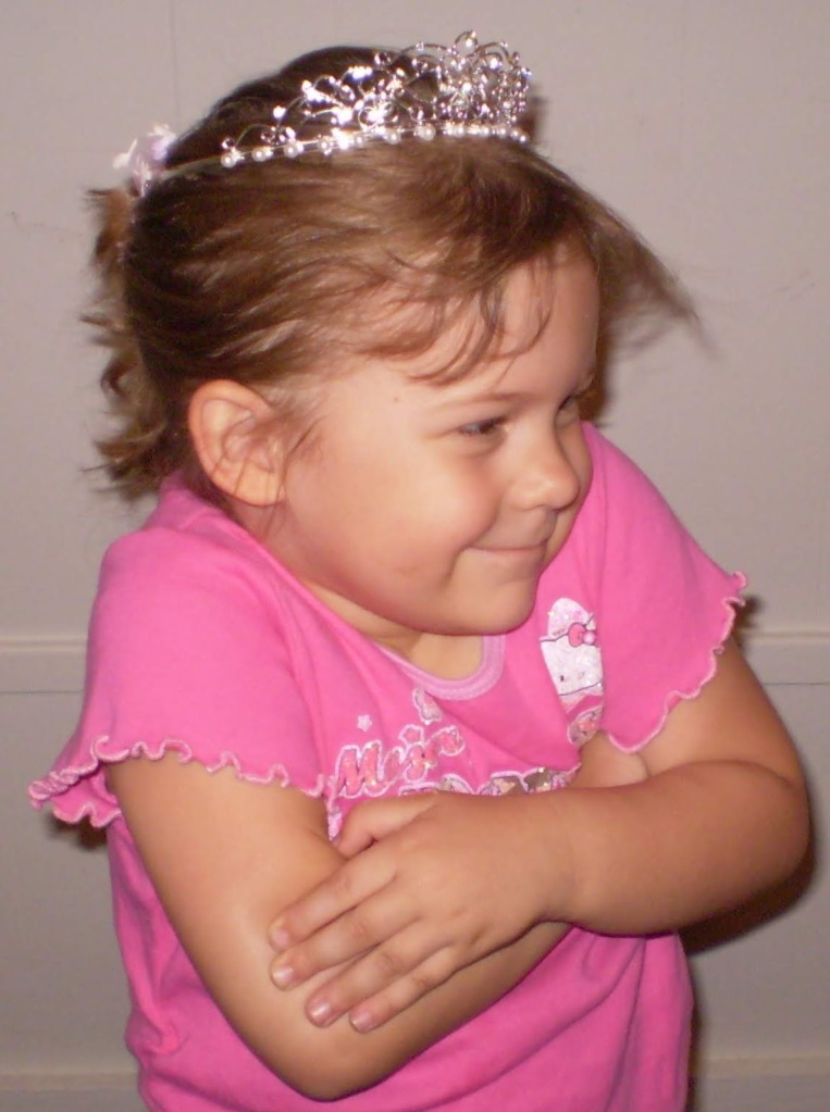 Julia, age 3